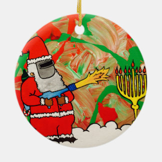 Ornamento de Hanukkah do Natal