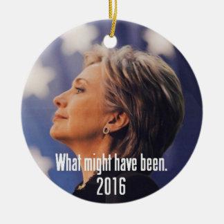 Ornamento de Hillary Clinton