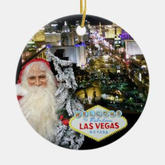 Ornamento de Las Vegas Papai Noel