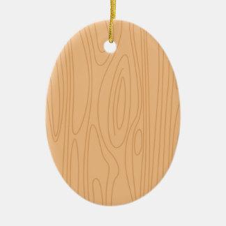 Ornamento de madeira tirado mão