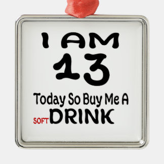 Ornamento De Metal 13 hoje compre-me assim uma bebida