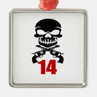 Ornamento De Metal 14 designs do aniversário