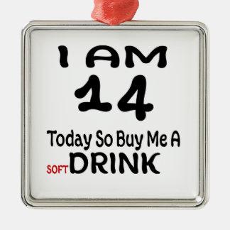 Ornamento De Metal 14 hoje compre-me assim uma bebida