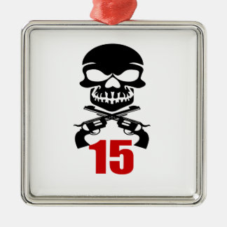 Ornamento De Metal 15 designs do aniversário