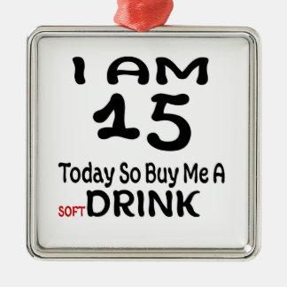Ornamento De Metal 15 hoje compre-me assim uma bebida