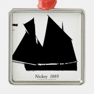 Ornamento De Metal 1885 Nickey Manx - fernandes tony