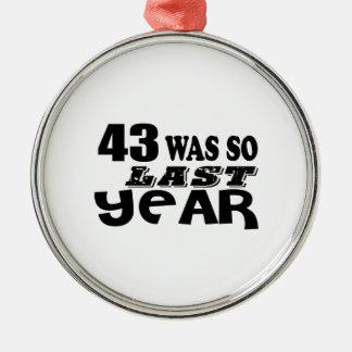 Ornamento De Metal 43 era assim tão no ano passado o design do