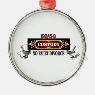 Ornamento De Metal 50 50 direitos de pais,
