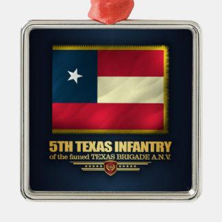 Ornamento De Metal 5o Infantaria de Texas