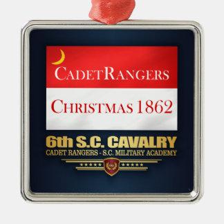 Ornamento De Metal 6o Cavalaria do SC (guardas florestais do cadete)