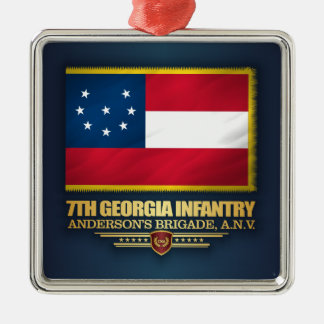 Ornamento De Metal 7o Infantaria de Geórgia (1)