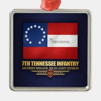Ornamento De Metal 7o Infantaria de Tennessee
