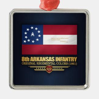 Ornamento De Metal 8o Infantaria de Arkansas (2)