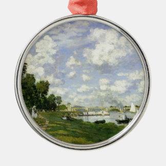 Ornamento De Metal A bacia em Argenteuil - Claude Monet