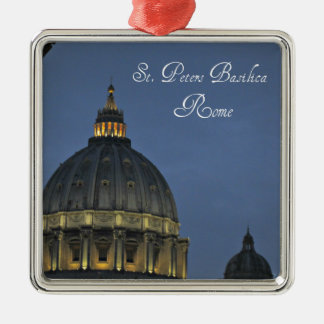 Ornamento De Metal A basílica de St Peter, Roma, Italia