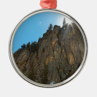 Ornamento De Metal A garganta de Boulder reduz o pináculo