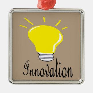 Ornamento De Metal a luz da inovação