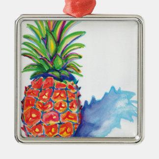 Ornamento De Metal Abacaxi tropical