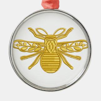 Ornamento De Metal abelha real, imitação do bordado