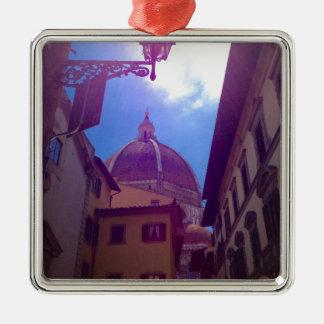 Ornamento De Metal Abóbada de Brunelleschi em Florença, Italia