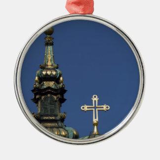 Ornamento De Metal Abóbadas ortodoxos da igreja cristã