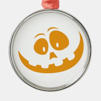 Ornamento De Metal Abóbora do Dia das Bruxas da lanterna de O de Jack