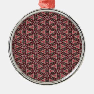 Ornamento De Metal Abstracção cor-de-rosa