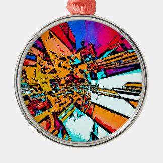 Ornamento De Metal Abstrato do pop art