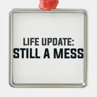 Ornamento De Metal Actualização da vida: Ainda uma confusão