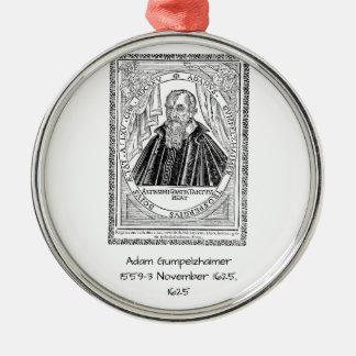 Ornamento De Metal Adam Gumpelzhaimer 1625