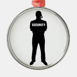 Ornamento De Metal Agente de segurança