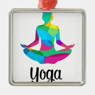 Ornamento De Metal Ajuste e malhação da ioga