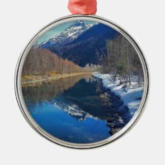 Ornamento De Metal Alaska