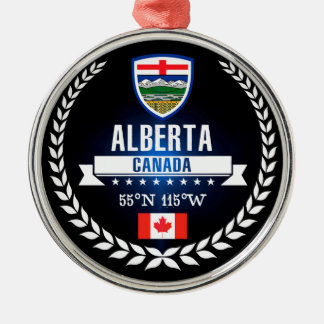 Ornamento De Metal Alberta
