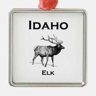 Ornamento De Metal Alces de Idaho