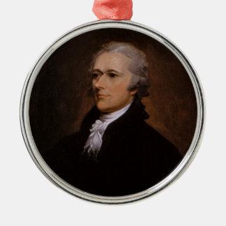 Ornamento De Metal Alexander Hamilton