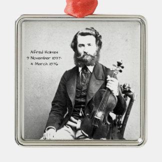 Ornamento De Metal Alfred Holmes