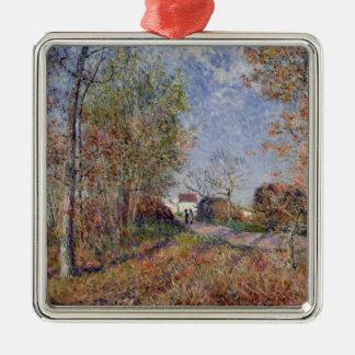 Ornamento De Metal Alfred Sisley | um canto das madeiras em Sablons