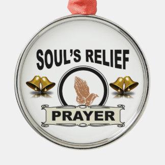 Ornamento De Metal alivio da alma do anel