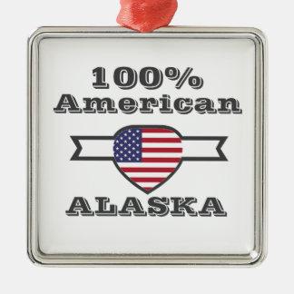 Ornamento De Metal Americano de 100%, Alaska