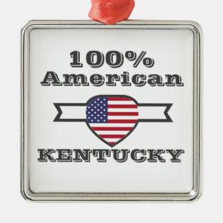 Ornamento De Metal Americano de 100%, Kentucky
