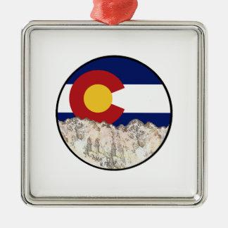 Ornamento De Metal Amor da montanha rochosa