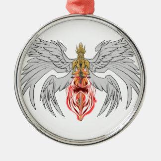 Ornamento De Metal angel_queen_2