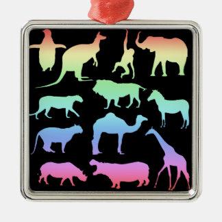 Ornamento De Metal Animais selvagens