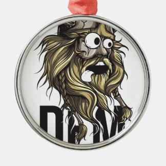 Ornamento De Metal Animal da barba das nádegas do Dem