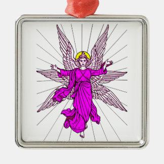 Ornamento De Metal Anjo