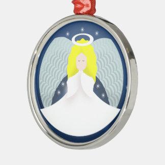 Ornamento De Metal Anjo do Natal com asas