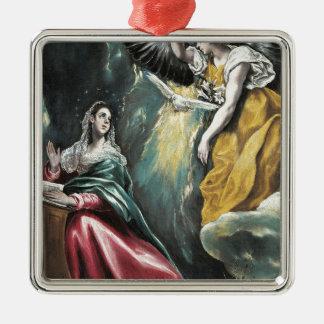 Ornamento De Metal Anjo que fala a Mary