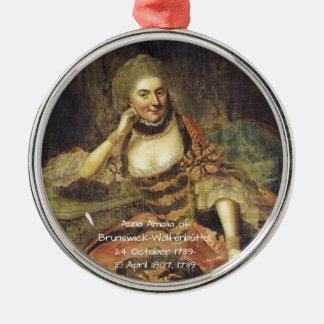 Ornamento De Metal Anna Amalia de Brunsvique-Wolfenbuttel 1739