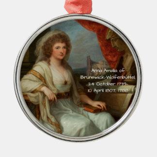 Ornamento De Metal Anna Amalia de Brunsvique-Wolfenbuttel 1788